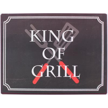 Metal: King of grill